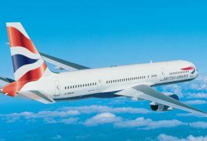 Đặt vé máy bay British Airways giá rẻ 2021