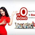 Vé máy bay đi Bangkok của Air Asia chỉ từ 0 đồng