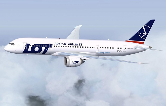 ve may bay gia re lot polish airlines