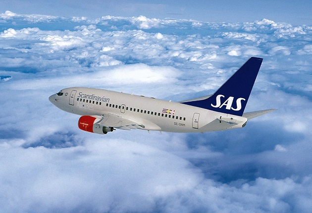 ve may bay gia re scandinavian airlines