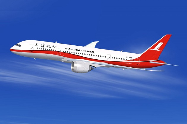 ve may bay gia re shanghai airlines