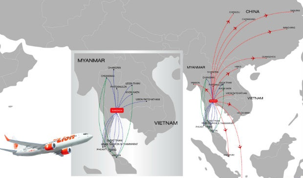 dat ve may bay gia re thai lion air