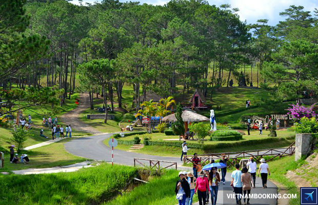 mua ve may bay di da lat