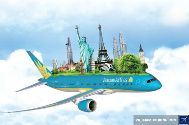 vé máy bay vietnam airline khuyến mãi