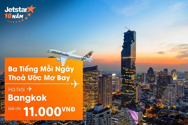ve may bay jetstar khuyen mai di bangkok