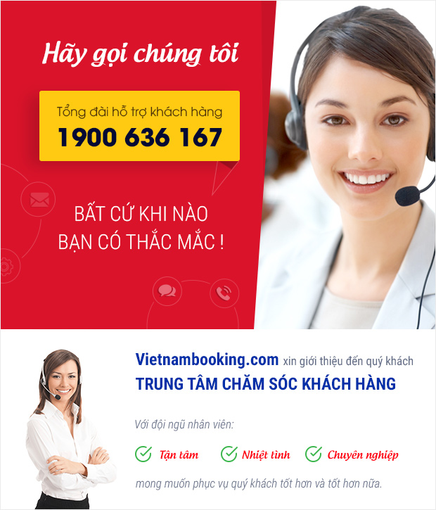 tong dai cham soc khach hang vietnam booking