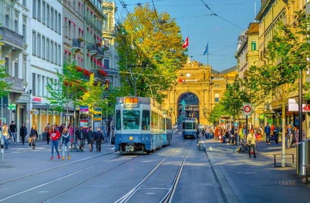 Đại lộ Bahnhofstrasse