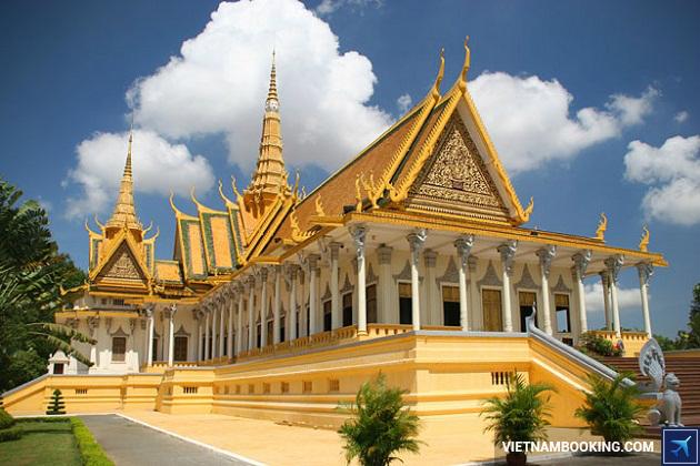 Du lịch Phnôm Pênh Campuchia