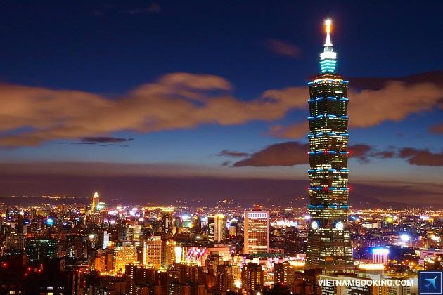 Du lịch Đài Bắc tháng 7