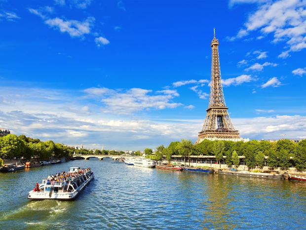 Du thuyền sông Seine