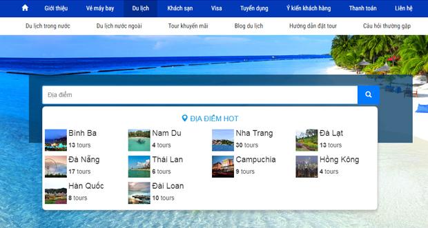 Đặt tour du lịch trong nước & quốc tế