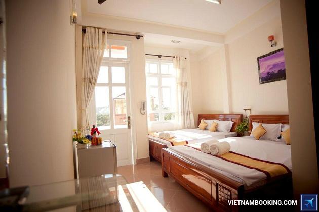 Khách sạn sang trọng nằm gần chợ Đà Lạt