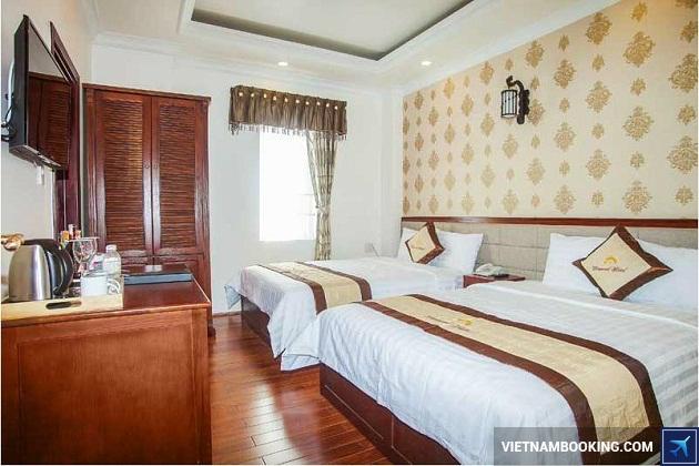 Khách sạn nằm ngay trung tâm ở Đà Lạt
