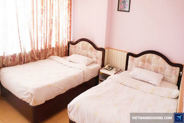 Khách sạn nằm ở Trung tâm Hòa Bình Đà Lạt