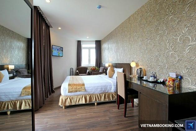 Khách sạn nằm tại thành phố Đà Lạt