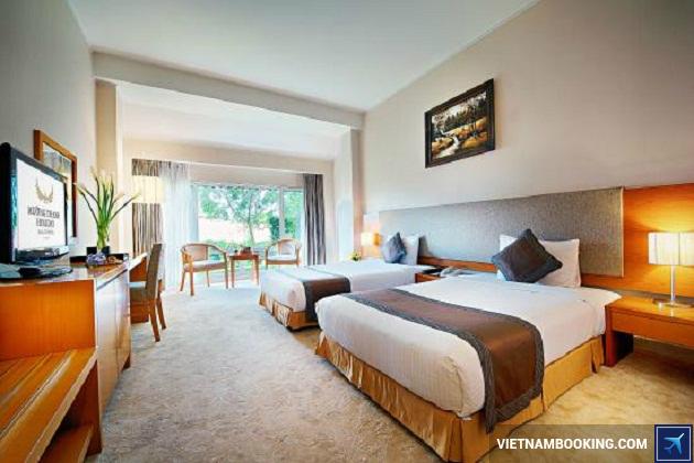 Khách sạn nằm gần chợ Đà Lạt