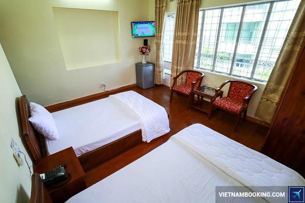Khách sạn nằm trên đường Trần Phú Đà Nẵng
