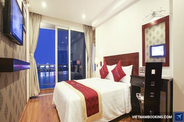 Những khách sạn nằm trên đường Bạch Đằng Đà nẵng được ưa thích