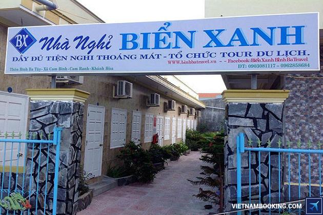 Khách sạn tại đảo Bình Ba Nha Trang