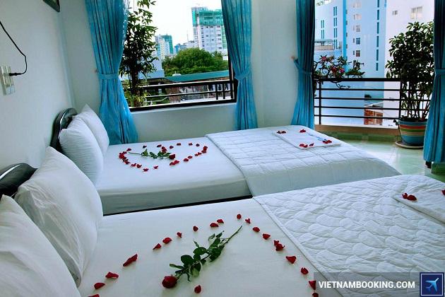 Khách sạn nha trang ở trên đường Trần Phú