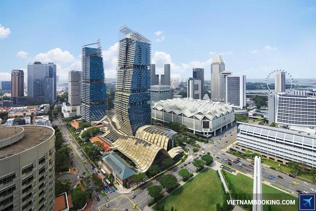Khách sạn Singapore có vị trí giao thông thuận lợi