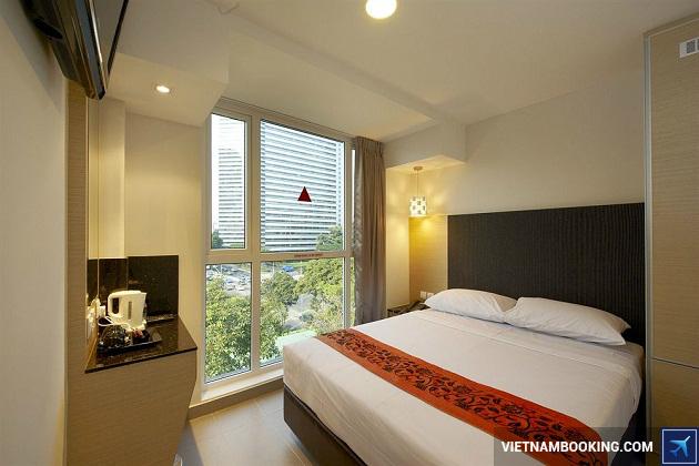 Khách sạn có vị trí giao thông thuận lợi tại singapore