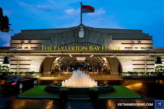 Khách sạn Fullerton Bay singapore