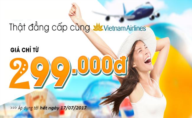 ve may bay khuyen mai vietnam airlines