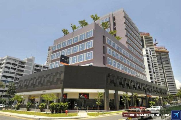 Khách sạn giá rẻ nhất Singapore