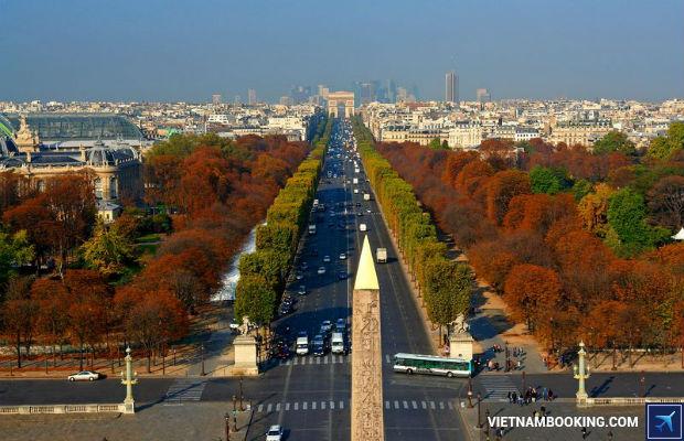 Chương trình tour du lịch Châu Âu: Pháp – Thụy Sỹ – Ý (8N7Đ)