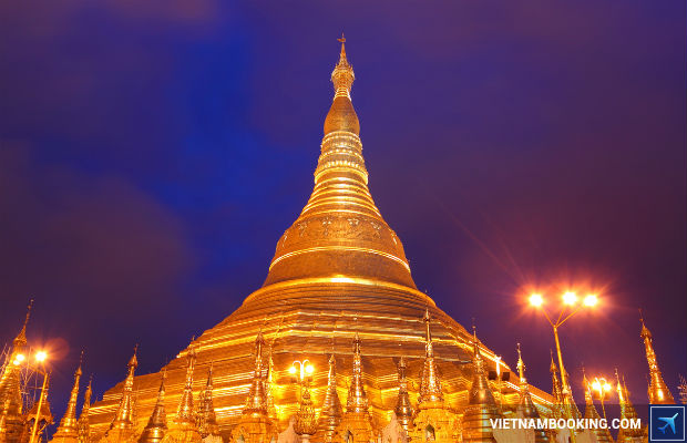 Tour du lich Myanmar 4N3Đ: Yangon – Bago – Kyaikhtiyo