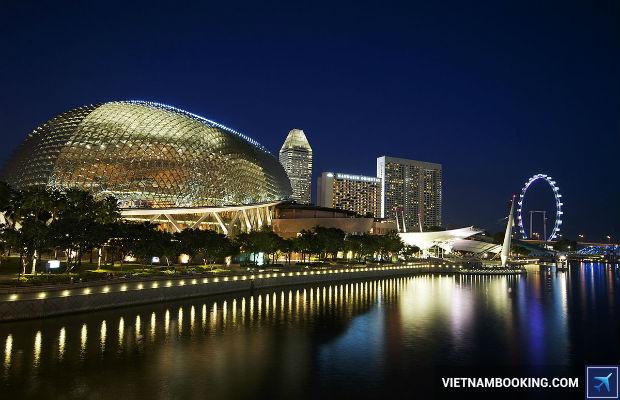 Tour du lich Singapore gia re