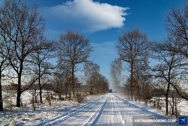 Mùa đông ỏ Đức