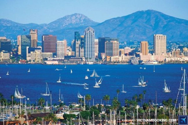 ve may bay di san diego