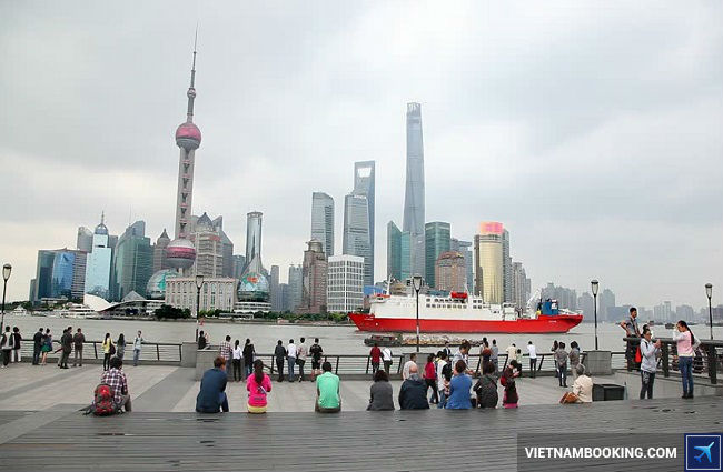 ve may bay di shanghai