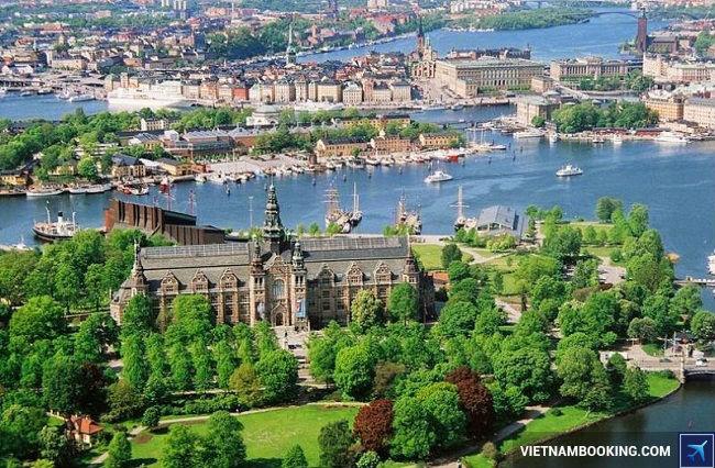 ve may bay di stockholm