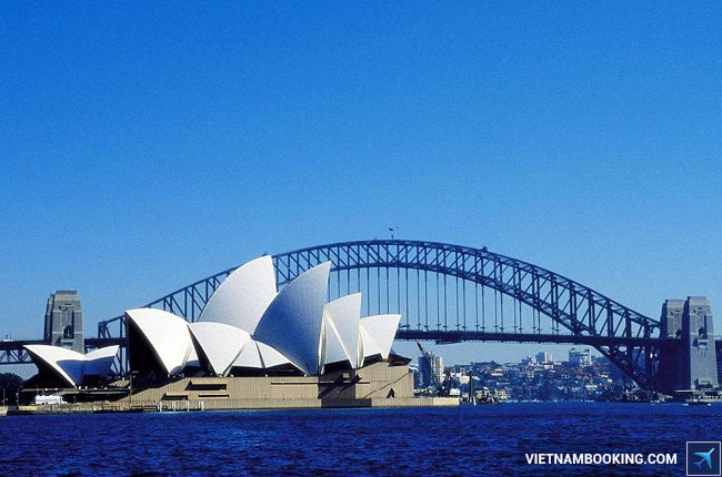 ve may bay di sydney