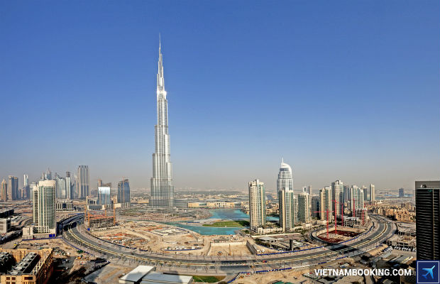 Tour du lịch Dubai 6 ngày 5 đêm từ TP HCM: Brunei – Dubai – Sharjah – Abu Dhabi