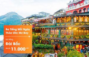 Siêu khuyến mãi vé Jetstar Đà Nẵng đi Đài Bắc chỉ 11.000đ