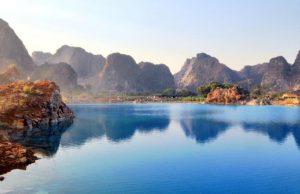 Đến Hải Phòng check-in hồ nước xanh như Cửu Trại Câu