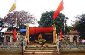 Ghé thăm đền Gắm ngôi đền cổ kính nằm ở Tiên Lãng – Hải Phòng