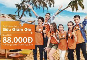 Chỉ từ 88.000 VND, đặt vé Jetstar ngay, tiết kiệm hơn!