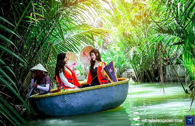 du lịch rừng dừa hội an