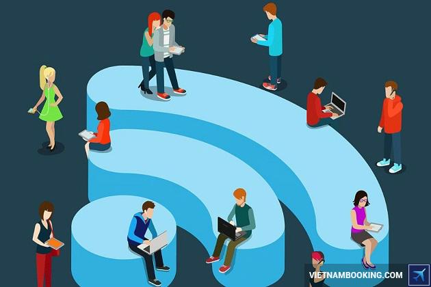 Miễn phí Wifi khi đặt khách sạn tại Vietnam Booking