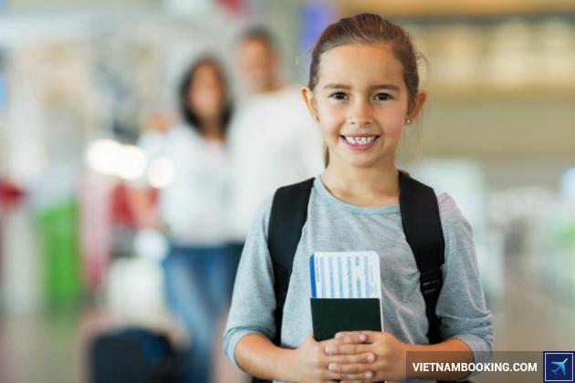 Dịch vụ làm hộ chiếu cho trẻ em