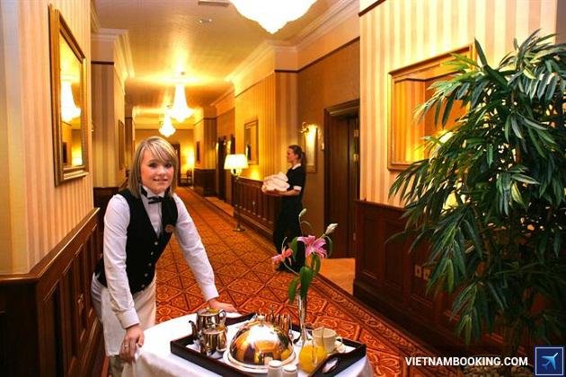 Khách sạn có dịch vụ phục vụ ẩm thực tại phòng không