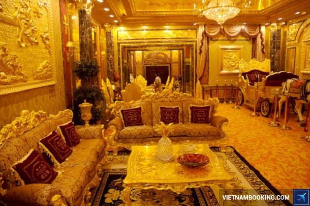Khách sạn bằng vàng ở Hồng Kông