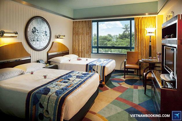 Đặt phòng khách sạn ở Disneyland Hồng Kông