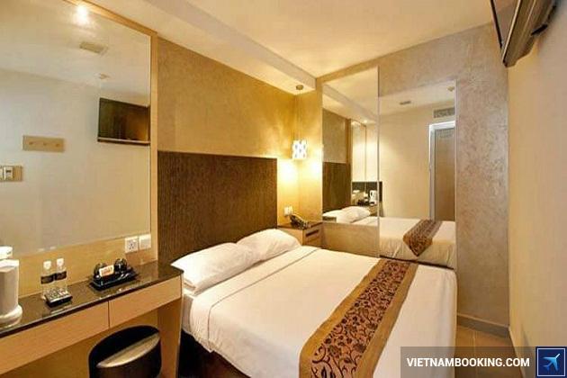 Khách sạn gần trung tâm mua sắm Singapore