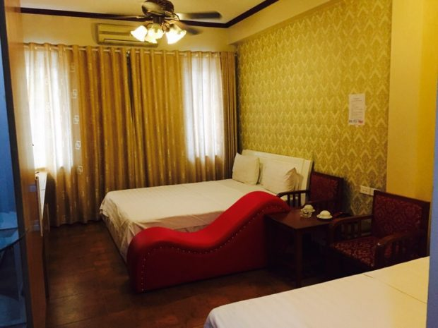 Khách sạn có ghế tình yêu Ngọc Hân